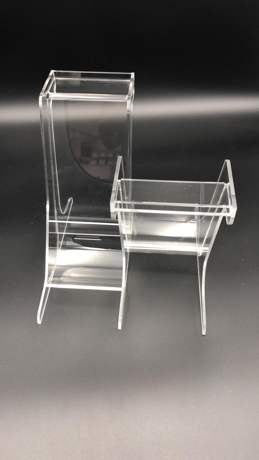Bargeldrutsche aus Plexiglas