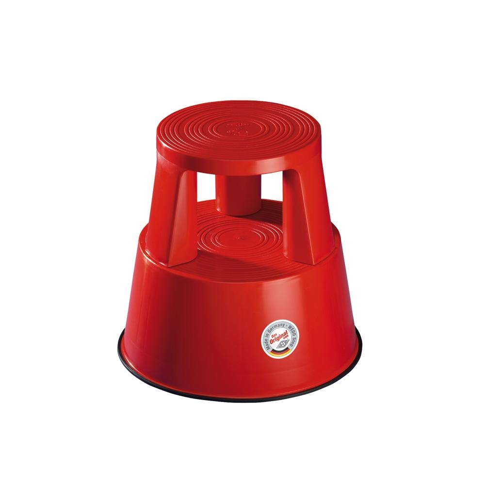 Rollhocker Kunststoff rot