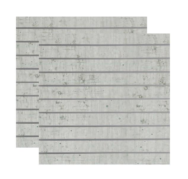 Spacewall Lamellenwand 2er-Set Dekor Industry