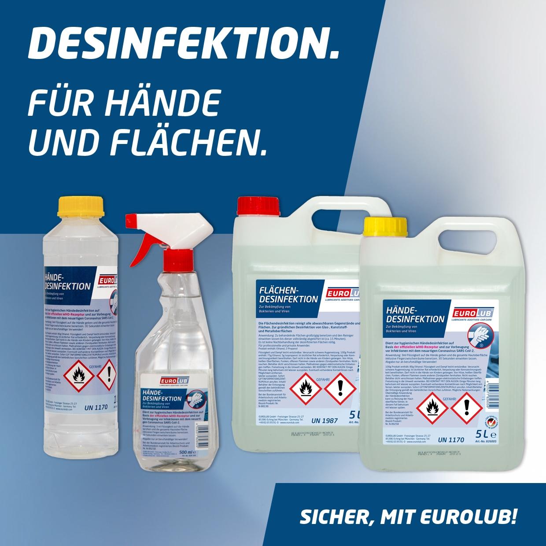 Flächendesinfektion 25 Liter