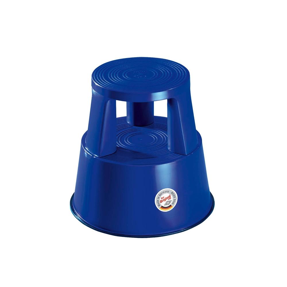Rollhocker Kunststoff blau
