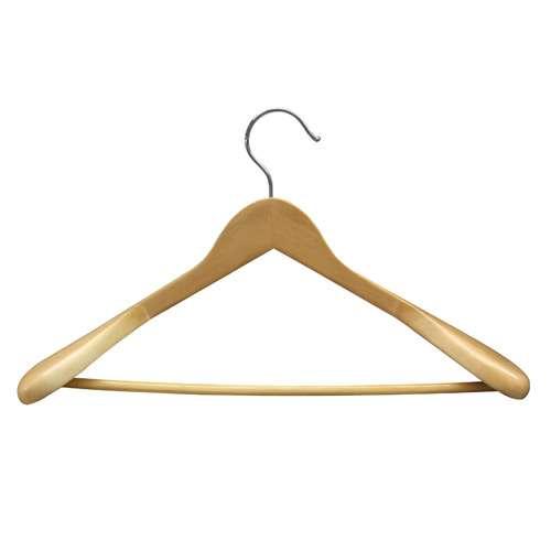 Anzugbügel gewinkelt