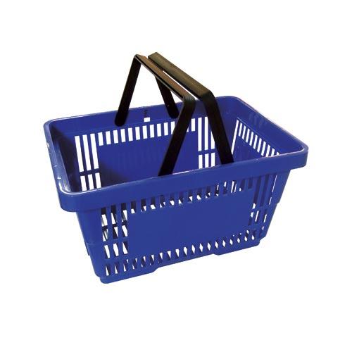 Einkaufskorb blau