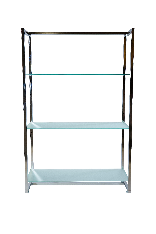Regal mit Glasböden