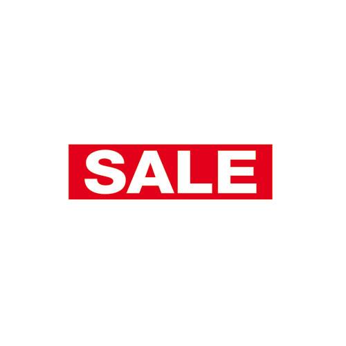 Aufkleber 'Sale' klein