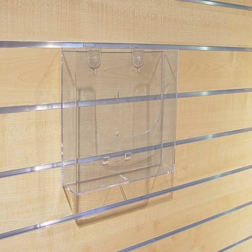 Prospekthalter Fülltiefe 3,5 cm