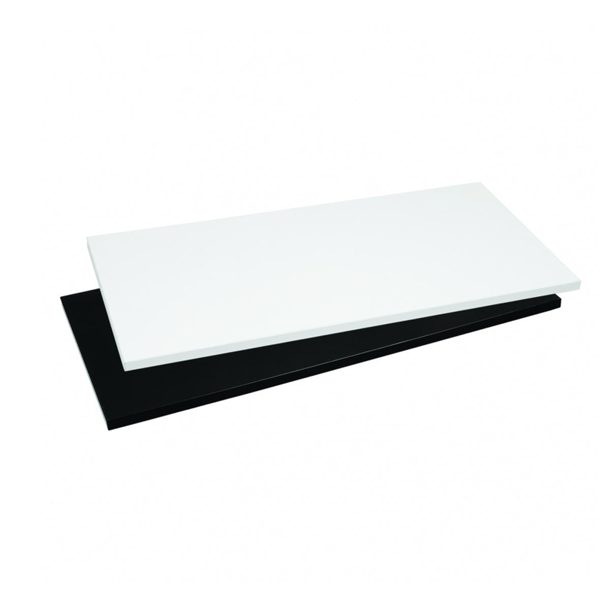 Holzfachboden weiß für Gondel breit Scala