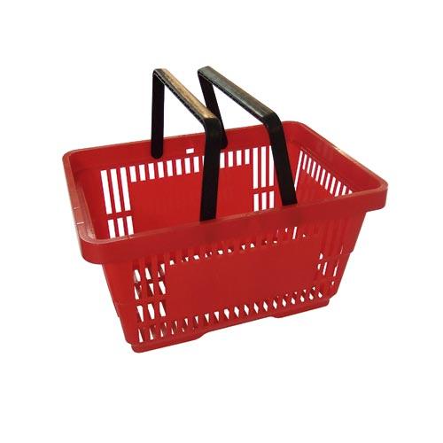Einkaufskorb rot