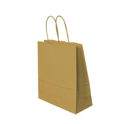 Papiertragetasche braun