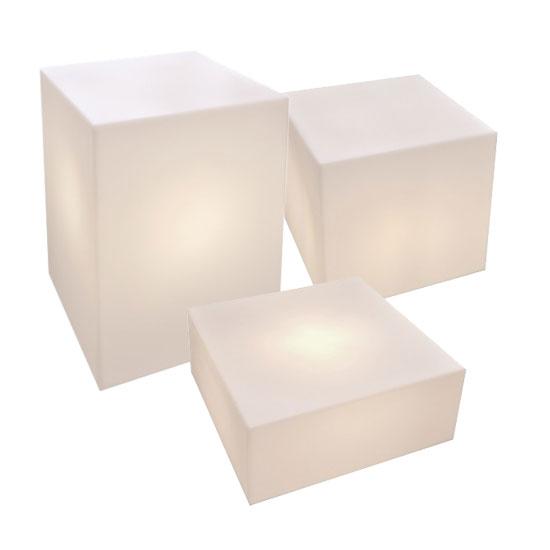 Leuchtkörperset Quader klein