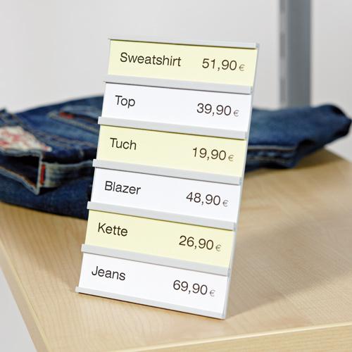 Preis-Display freistehend