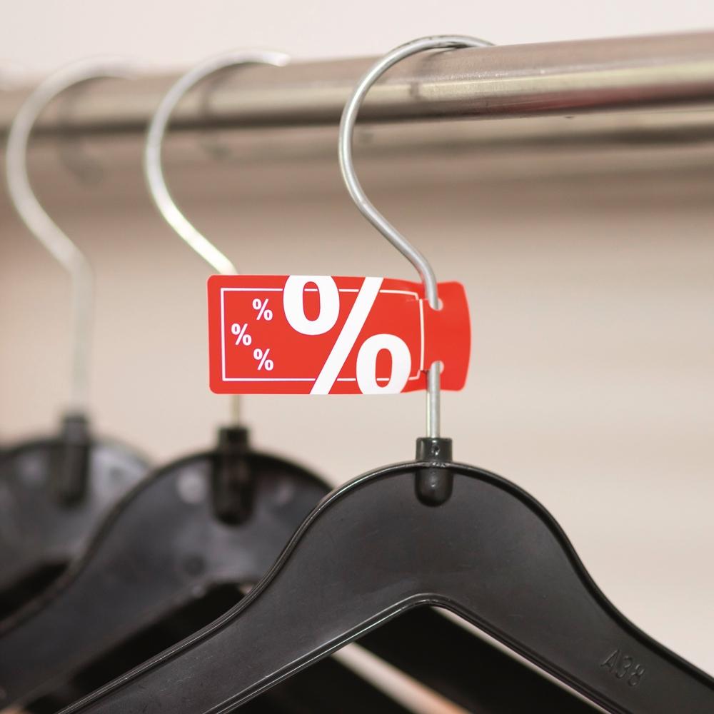 Kleiderbügel-Schild %