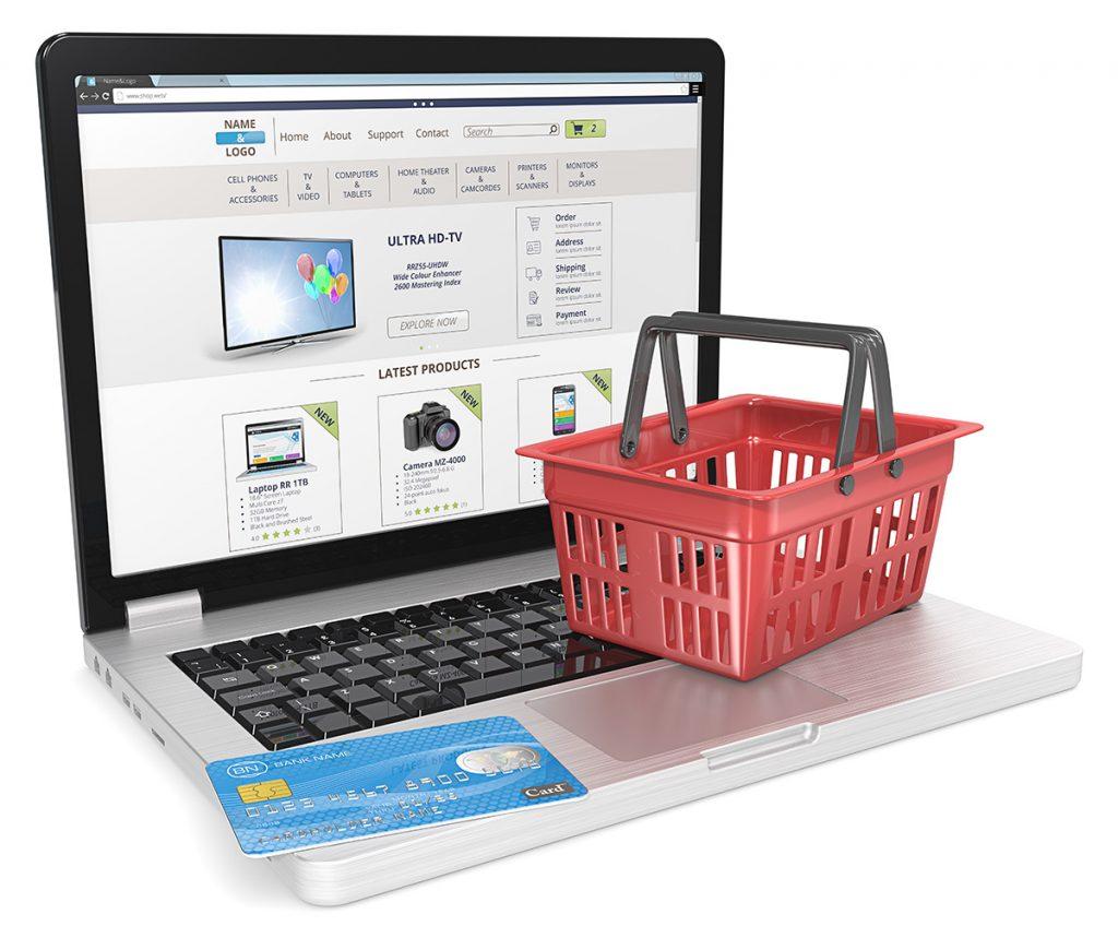 Warenkorb Online Bestellungen