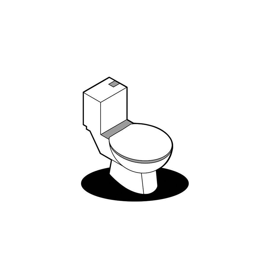 Kunden Toilette Einzelhandel