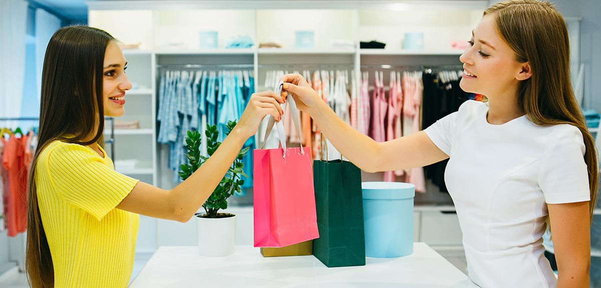 Kundentypen Geschäft Textil